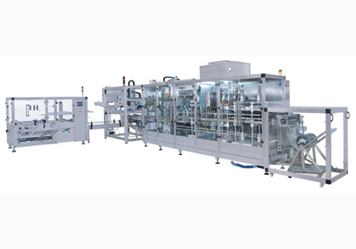 Full automatic thermoforming blister machine